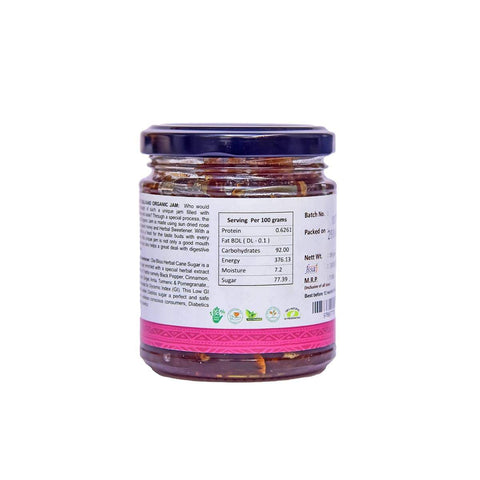 Organic Gulkand Jam With Herbal Sweetener