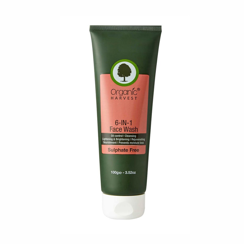 Face Wash - 6 in 1 (Sulphate Free)