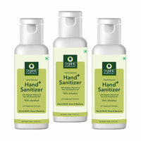 Hand Sanitizer With 70% Alcohol - 150 ml Each (Pack of 3)