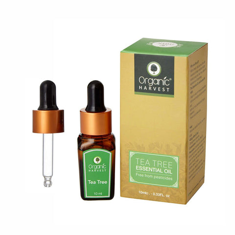 Organic Harvest Tea Tree Essential Oil, 10ml