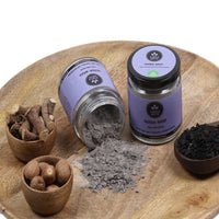 100% Organic Charcoal Clay Herbal Face Pack & Body Pack