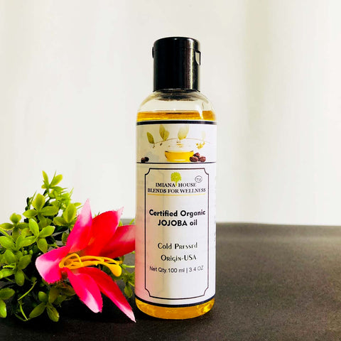 Certified Organic Jojoba Oil (Cold Pressed)