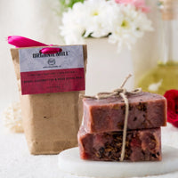 Cold Processed Berry Coco Butter And Rose Petals Soap