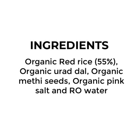 Organic Red Rice Batter