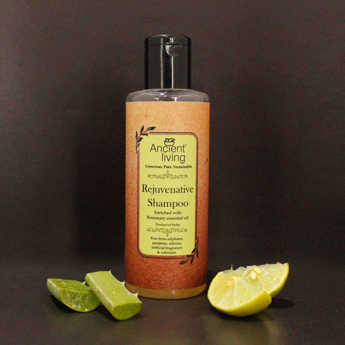 Rejuvenation Shampoo Enriched With Rosemary Essential Oil Qtrove