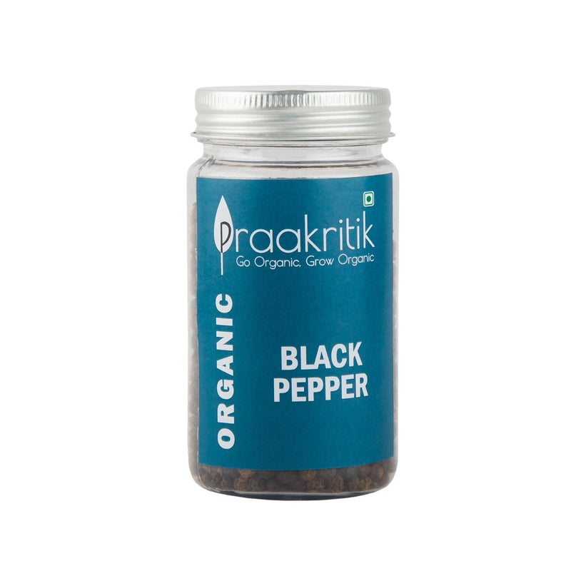 Organic Whole Black Pepper