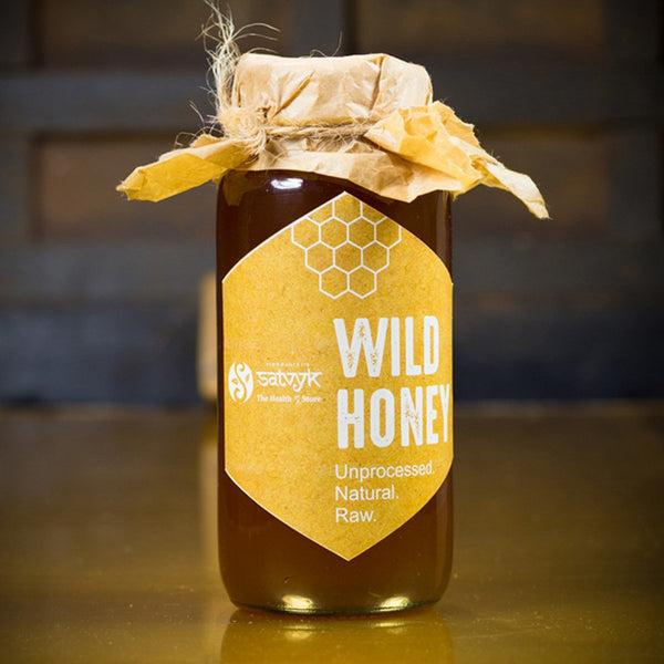 Wild Honey (Organic ,Unprocessed, Natural, Raw) at Qtrove