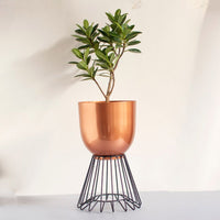 Planter (Copper & Black) - Oslo