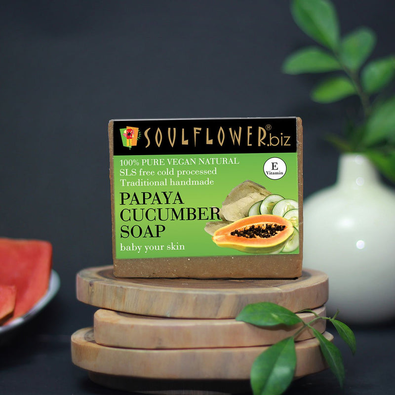 Papaya Cucumber Soap