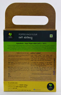 100% Natural Ragi Popped Flour (Pack of 3)