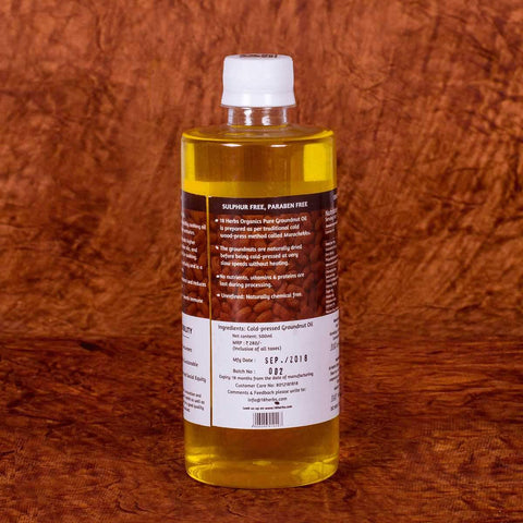 Pure Edible Groundnut Oil