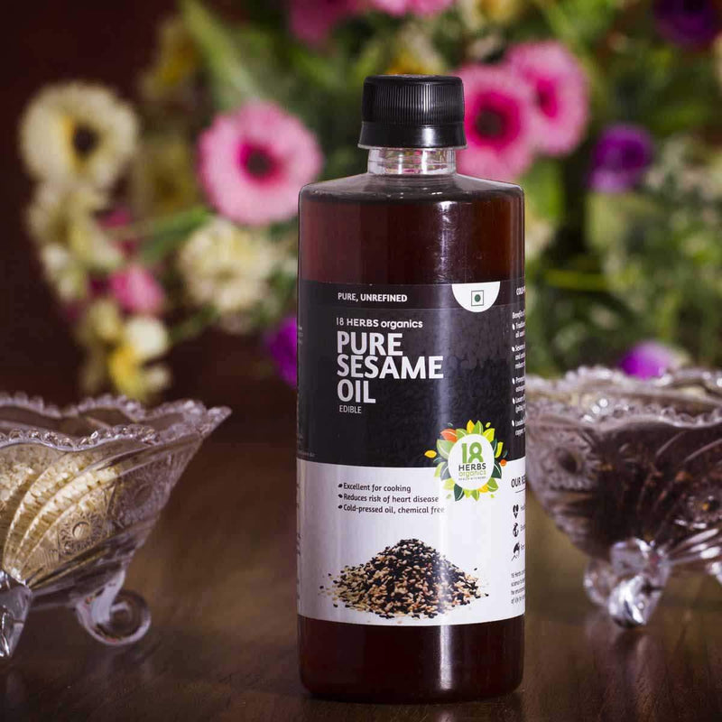 Pure Sesame Edible Oil