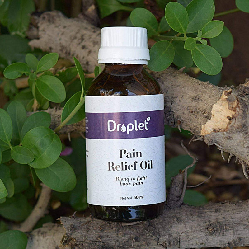 Pain Relief Oil (Blend To Fight Body Pain)