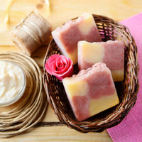 Rose Clay and Yogurt Soap