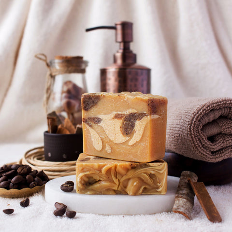 Coffee Cinnamon Exfoliating Soap