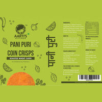 Pani Puri Coin Crisps (Pack of 2)