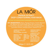 Papaya Extract Deep Conditioning Hair Mask