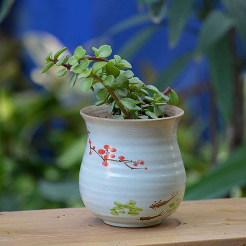 Paradise in Dreams Ceramic Pot