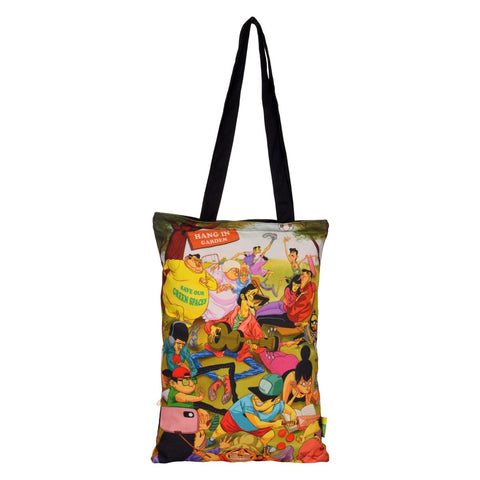 Park Cotton Tote Bag