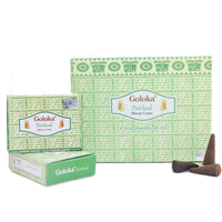 Patchouli Dhoop Cones Pack Of 12 (10 Cones Each Pack)