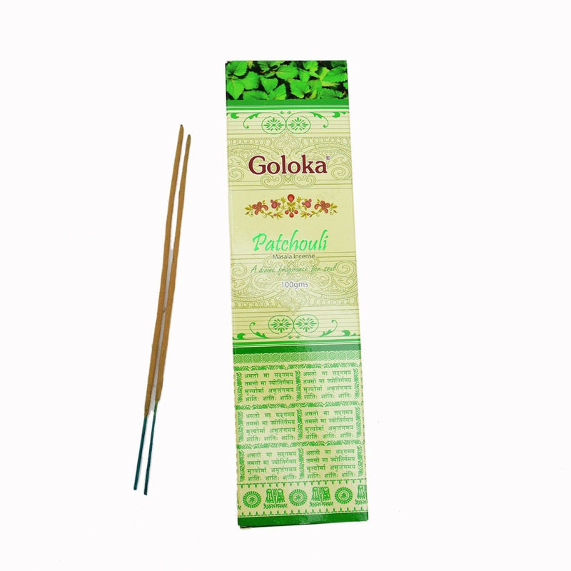 Patchouli Masala Incense Sticks Pack Of 2 (100 Grams Each Pack)