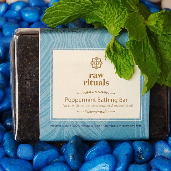 Chemical-free Peppermint Face And Body Bar at Qtrove