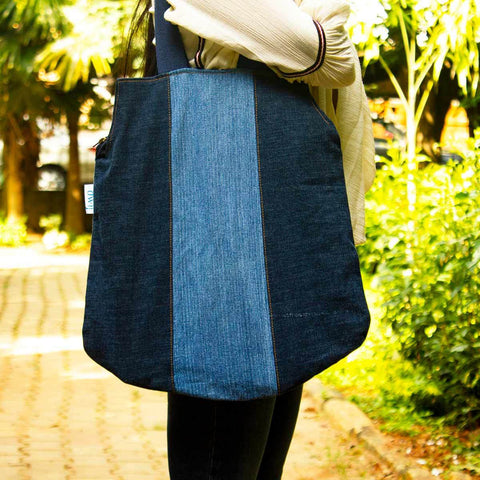 Peppy Bag Made With Upcycled Jeans