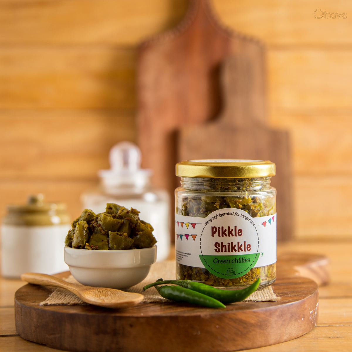 Chilli Pickle -Homemade & All Natural (Pack of 2)