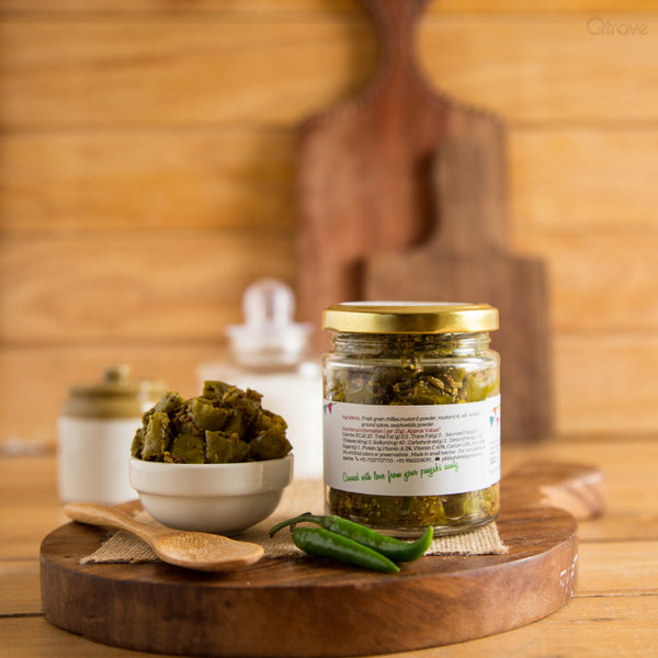 Chilli Pickle -Homemade & All Natural (Pack of 2) at Qtrove