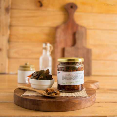 Mango Pickle Spicy - Homemade (Set of 2)