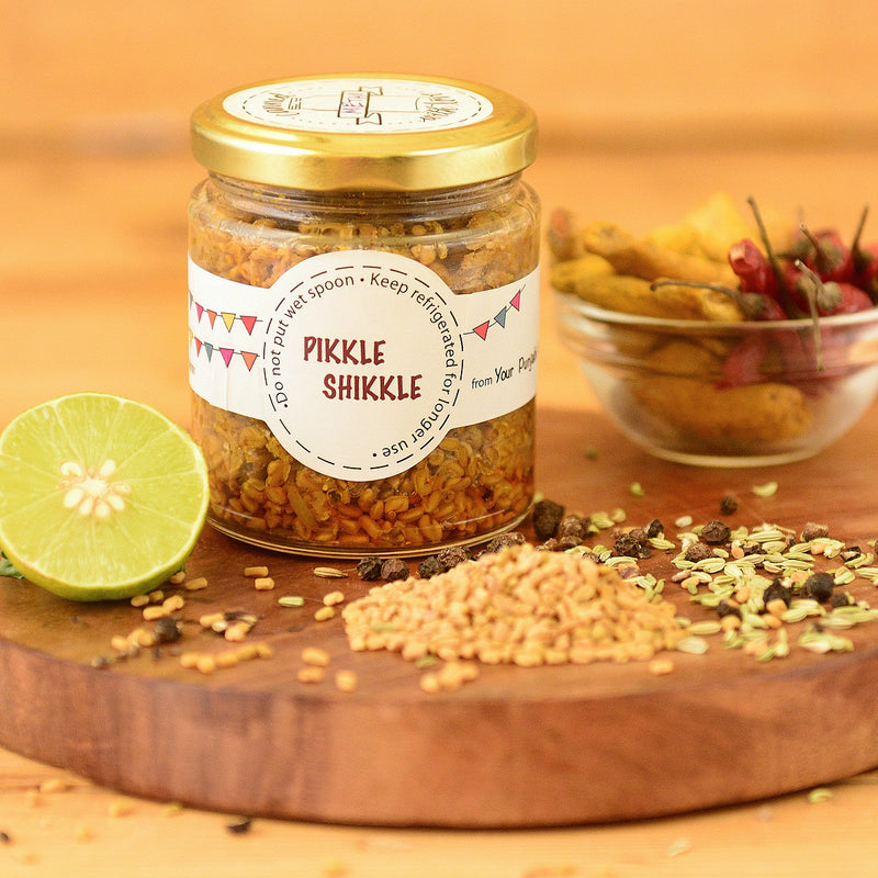 Fenugreek Seed (Methi) Pickles- All Natural & Homemade