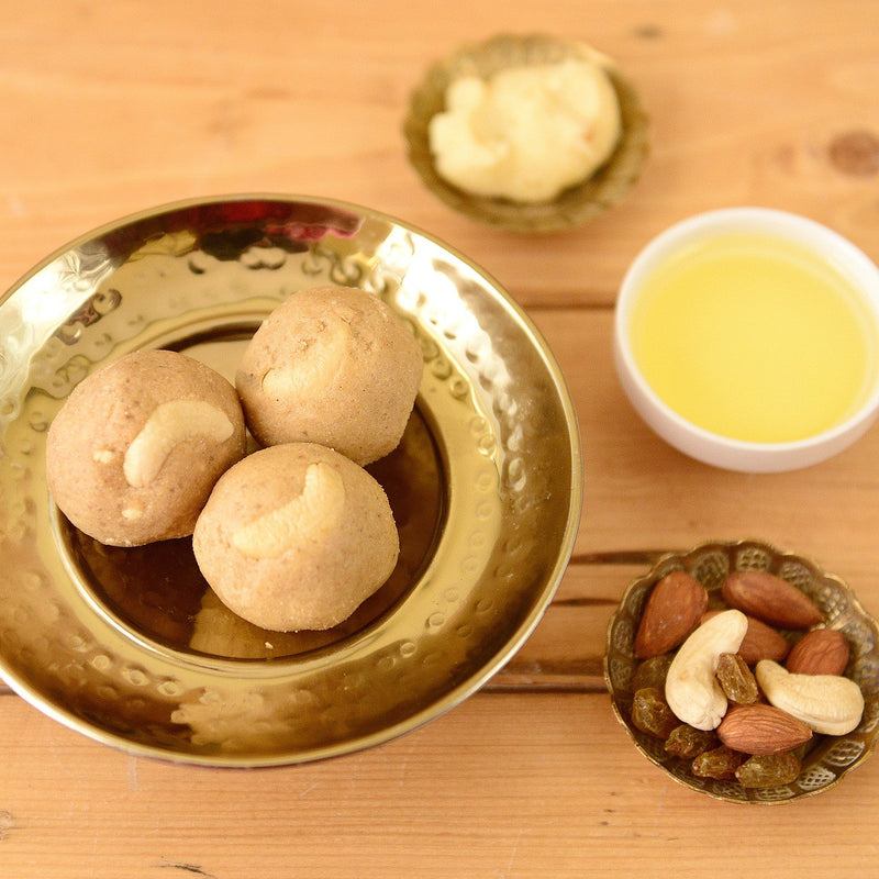 Homemade Pinni (Punjabi Ladoo)