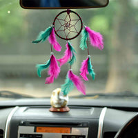 Pink & Green Color Car & Wall Hanging (Small)