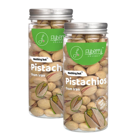 Pistachios (From Iran) - Pack of 2, 2 x 150 g