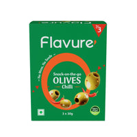 Pitted Chilli Olives Pack of 6 (Two Box of 3's)