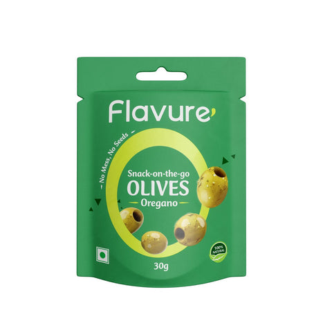 Pitted Oregano  Olives - (Pack of 12)