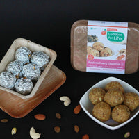 Post Delivery Laddoos (Made With 85% Dry Fruits, Methi, Aswagandha, Jaggery)