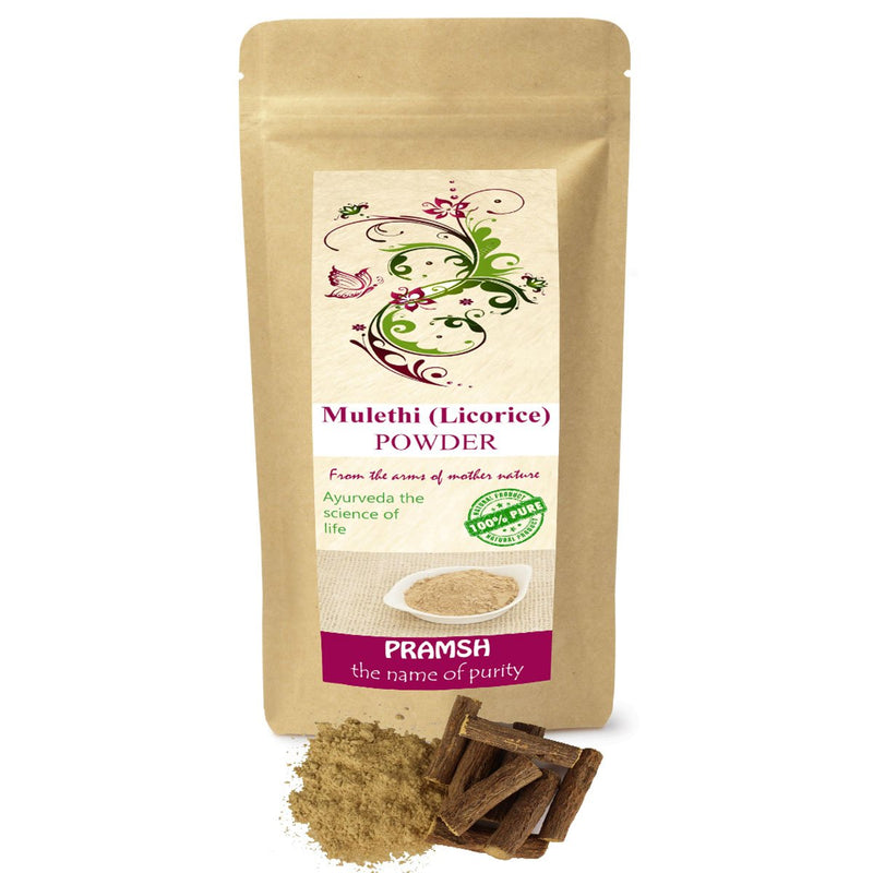 Pramsh Premium Quality  Mulethi (Licorice) Powder