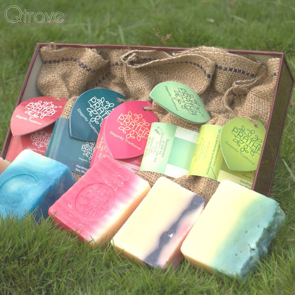 Signature Handmade Soap Gift Box at Qtrove