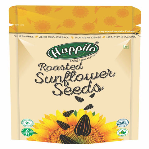Premium Roasted & Salted Sunflower Seeds (No Shells) ( Pack of 2)