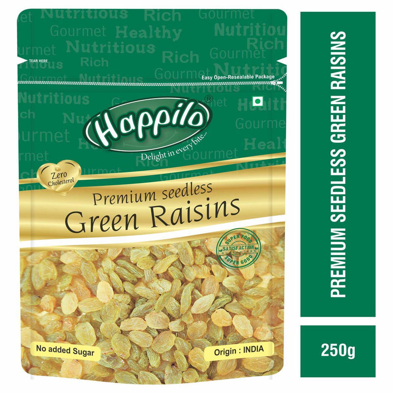 Premium Seedless Green Raisins