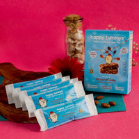 Preservative Free Almond Date Power Snack Bars (Pack of 5)