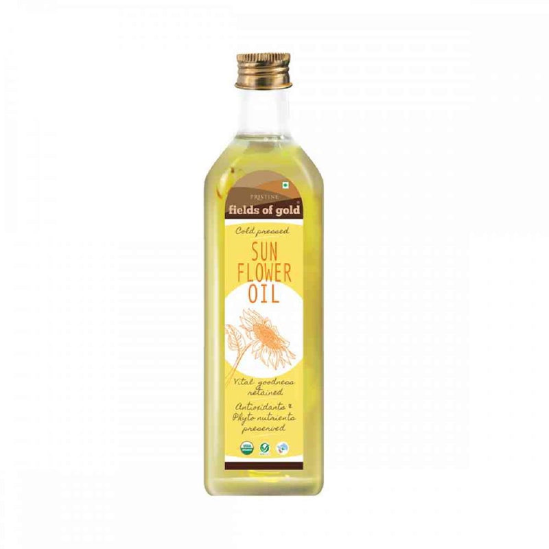 Sunflower Oil (Cold Pressed) - Glass Bottle