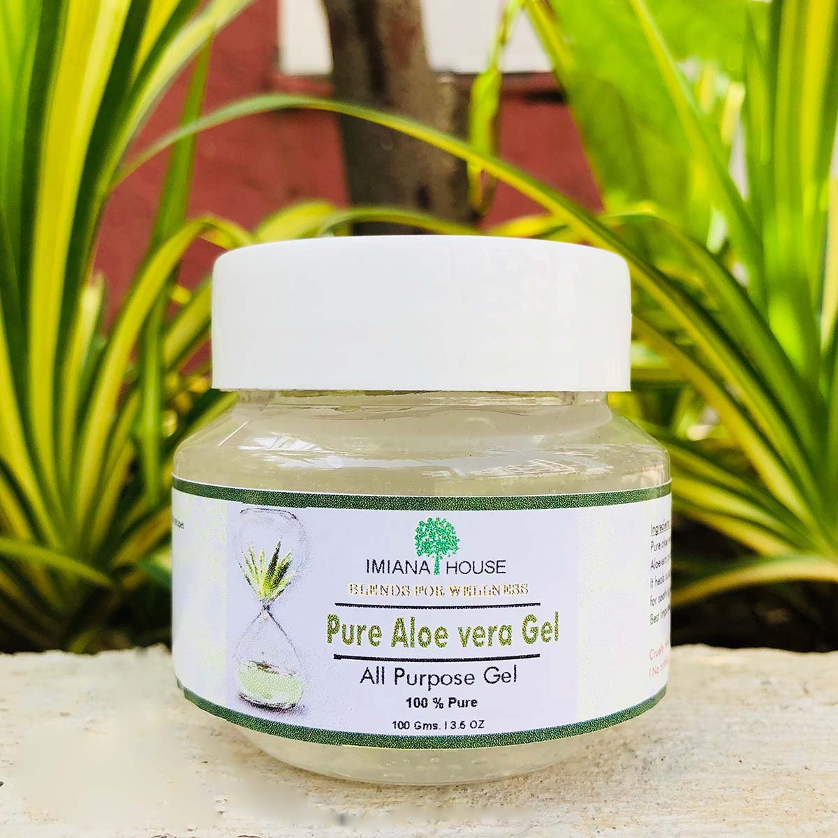 Pure Aloe Vera Gel (100% Pure) (All Purpose Gel)