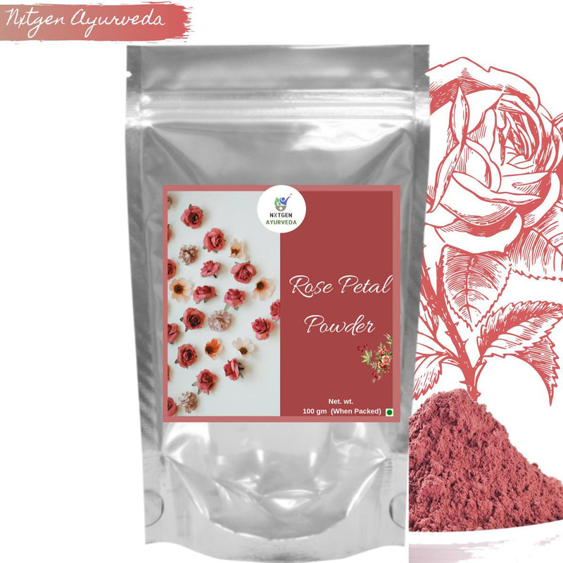 Pure Rose Petal Powder