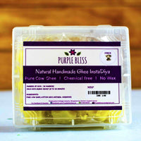 Natural Handmade Ghee InstaDiya (Pack of 2)