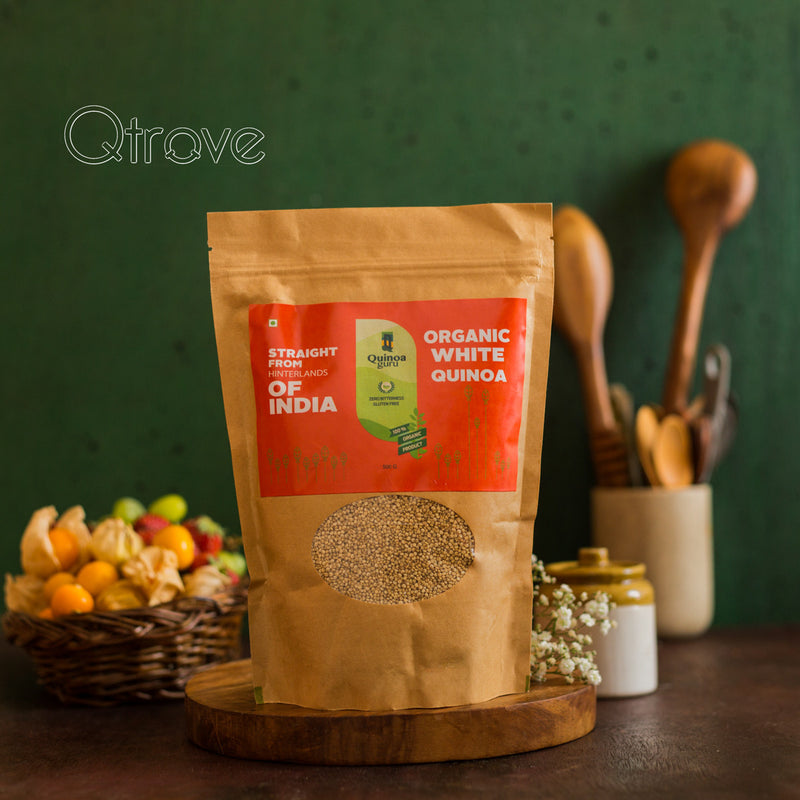Organic White Quinoa Indian Grain