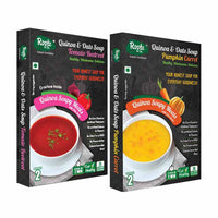 Quinoa & Oats Soupy Meal (Pack of 2) (Tomato Beetroot + Pumpkin Carrot)