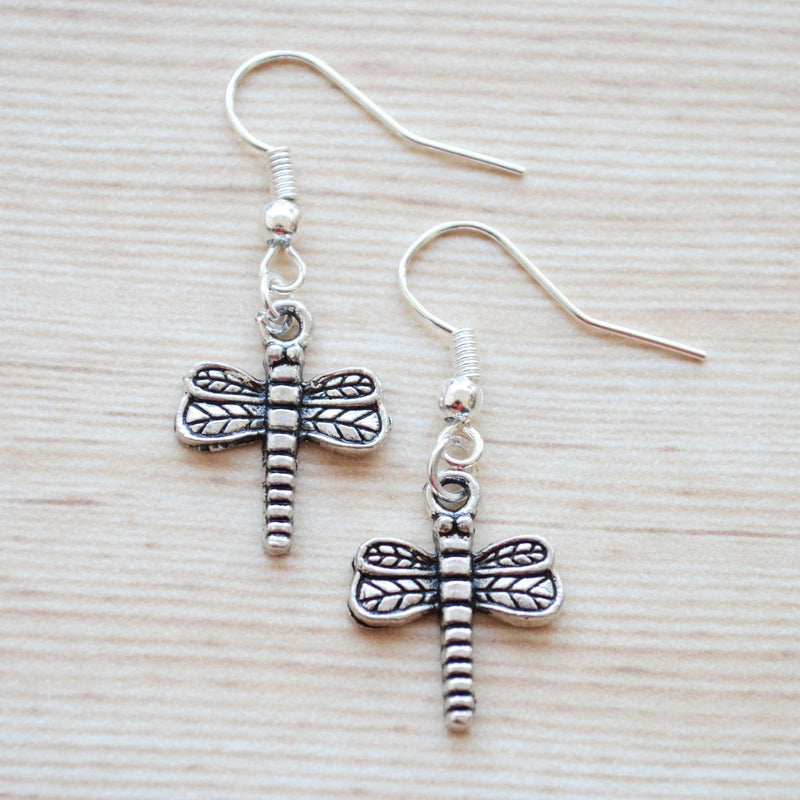 Quirky Bohemian Dragonfly Earrings
