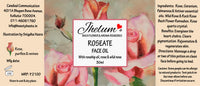 Roseate Face Oil (With Rosehip Oil, Rose and Wild Rose)